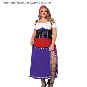 Leg Avenue Costume Traveling Gypsy.  NEW